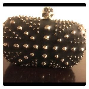 Handbags - Studded Clutch